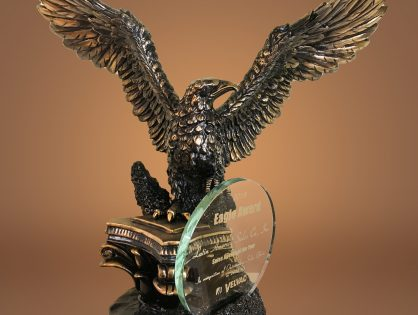 """LASCO has received the Velvac """"Eagle Award"""" for best agency performance during fiscal year 2018"""